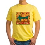 Dachshund Yellow T-Shirt
