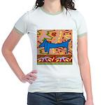 Dachshund Jr. Ringer T-Shirt