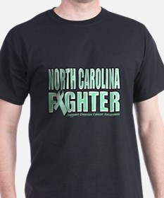 North Carolina Ovarian Cancer Fighter T-Shirt