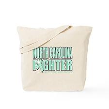 North Carolina Ovarian Cancer Fighter Tote Bag