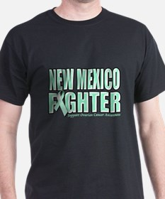 New Mexico Ovarian Cancer Fighter T-Shirt