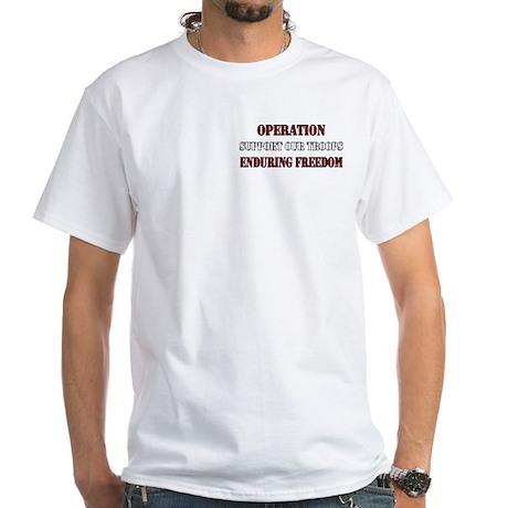 Operation Enduring Freedom White T-Shirt