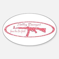 PINK GUN Decal