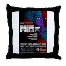 AIDA Throw Pillow