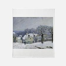 Cool Houses Throw Blanket