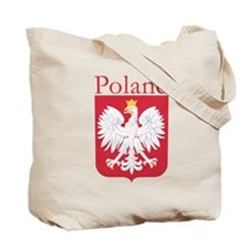 Poland With White Eagle Tote Bag