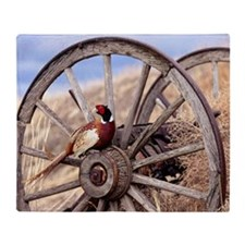 Wagon Wheel Throw Blanket