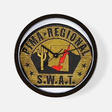 Pima Regional SWAT Wall Clock