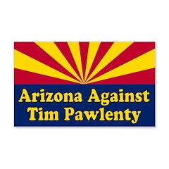 Arizona Against Tim Pawlenty Wall Graphic Decal