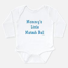 Little Matzah Ball Passover Long Sleeve Infant Bod