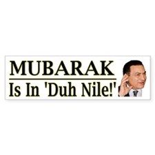 Mubarak Is In Duh Nile