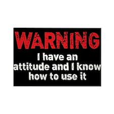 Attitude Warning Rectangle Magnet
