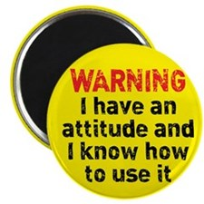 Attitude Warning Magnet