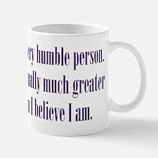 Humble Person Mug