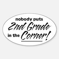 2nd Grade Nobody Corner Decal