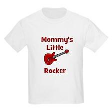 Mommy's Little Rocker Kids T-Shirt