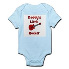 Daddy's Little Rocker with Gu Infant Creeper