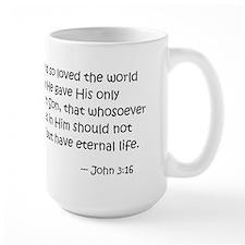 For God so loved the world... Mug