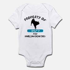 Karelian Bear Dog Infant Creeper