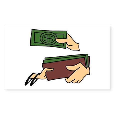 Jetson Money Sticker (Rectangle)