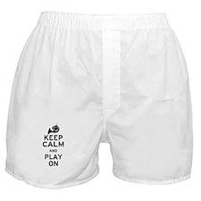 Keep Calm Horn Boxer Shorts