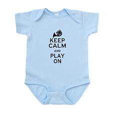 Keep Calm Horn Infant Bodysuit