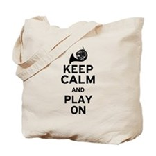 Keep Calm Horn Tote Bag