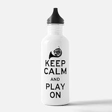 Keep Calm Horn Water Bottle