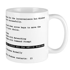 Restart Windows *!@#?!!* Small Mug
