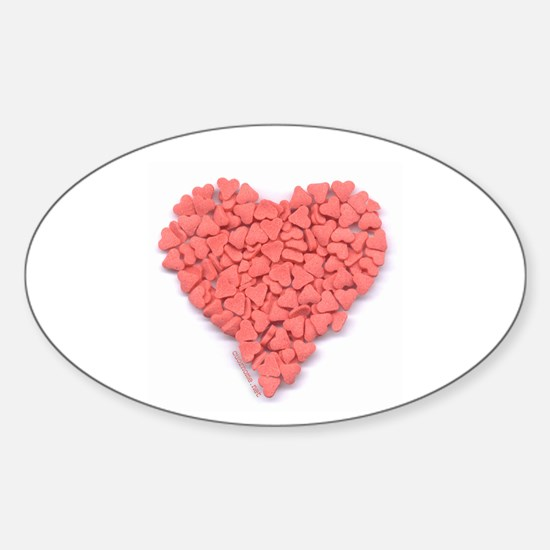 Stick-on Candy Heart
