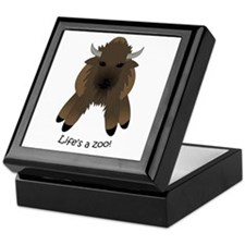 Bison Keepsake Box