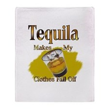 Tequila Throw Blanket