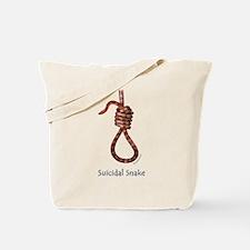 Suicidal Snake Tote Bag