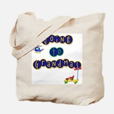 Boy Going to Grandma's Tote Bag