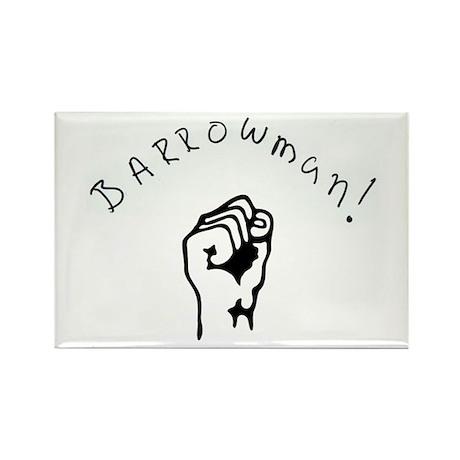 BARROWMAN!!! Rectangle Magnet