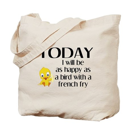 Happy as a Bird Tote Bag