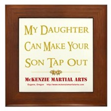 MMA - Daughter 2 - Framed Tile