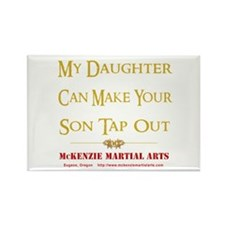 MMA - Daughter 2 - Rectangle Magnet
