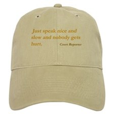 Just speak nice and slow... Baseball Cap