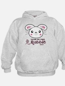 Chinese New Year 2011 Rabbit Hoodie