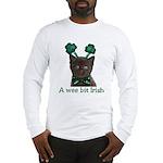 Shamrock Kitten Long Sleeve T-Shirt