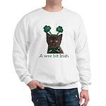 Shamrock Kitten Sweatshirt