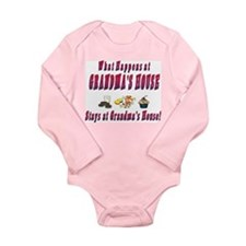 What Happens At Grandma's House Long Sleeve Infant