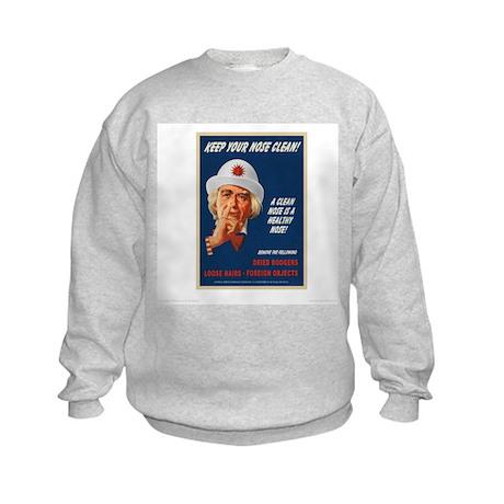 Nasal Hygiene Kids Sweatshirt