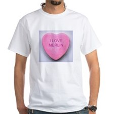 Merlin Conversation Heart Shirt