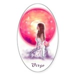Virgo Oval Sticker