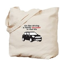 R60 Mini -Family Go Kart Tote Bag