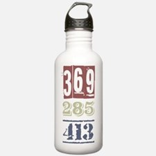 Numbers Water Bottle