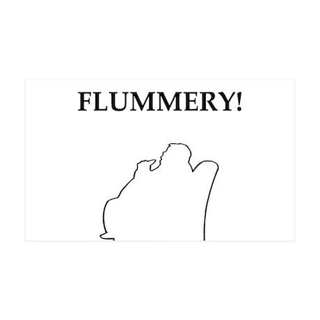 flummery 38.5 x 24.5 Wall Peel