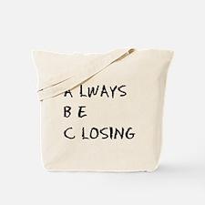 Glengarry ABC Tote Bag
